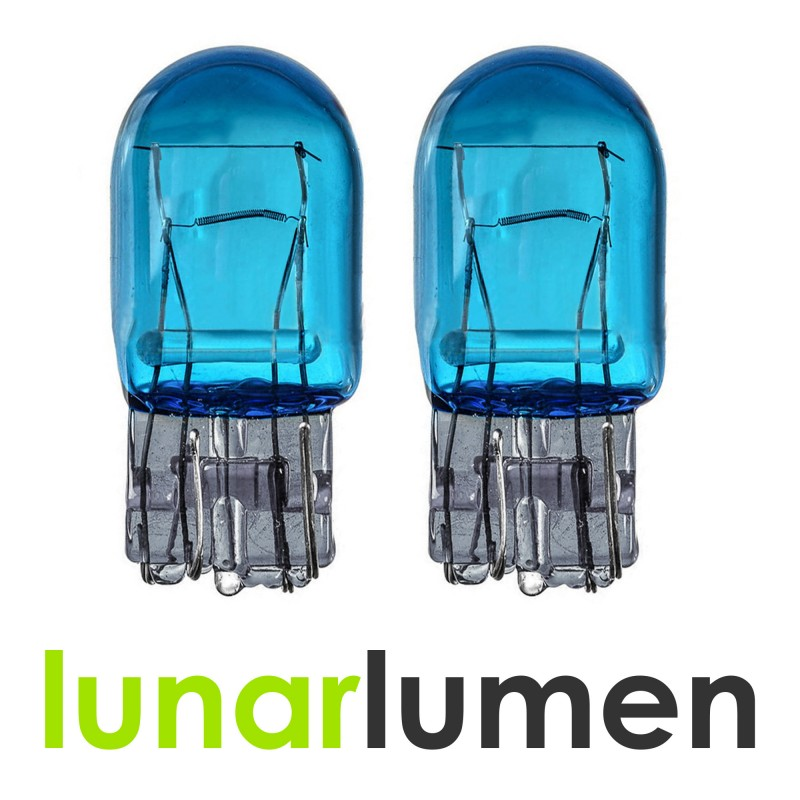 Lunar Lumen W21/5W T20 Super White Halogen Bulbs